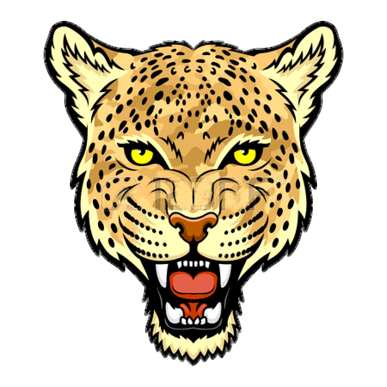 1350x1350 Amur Leopard Jaguar Felidae Snow Clip Art 1350 Mesmerizing Clipart