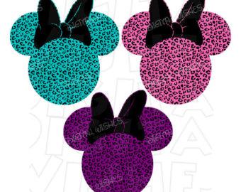 340x270 Cheetah Minnie Mouse Etsy