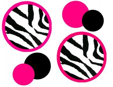 388x300 Cheetah Pink Clipart