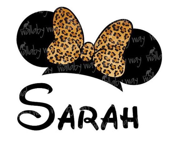564x451 Leopard Minnie Mouse Clipart