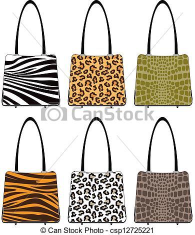 390x470 Animal Skin Handbags. Handbags In Various Prints Tiger, Leopard