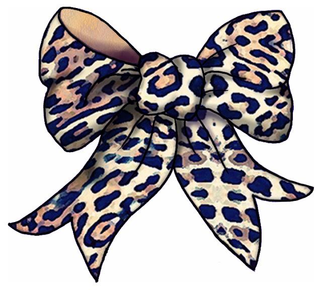 640x576 Best Photos Of Leopard Pink Bow Cartoon