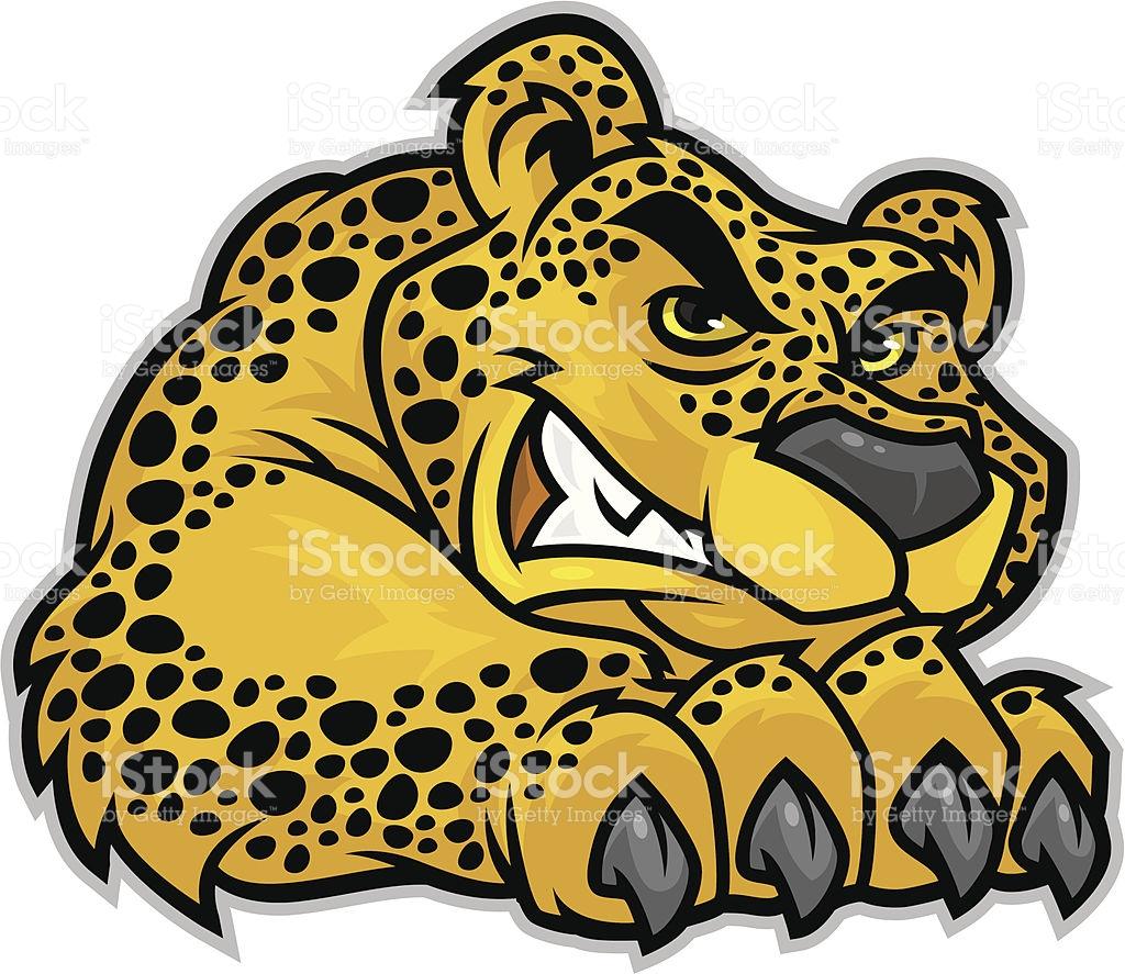 1024x887 Cheetah Clipart Body