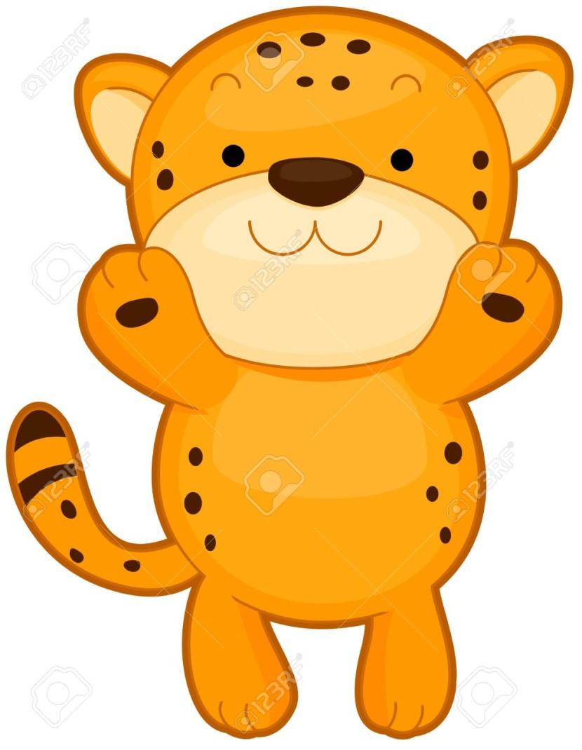 830x1070 Clip Art Cheetah Clip Art