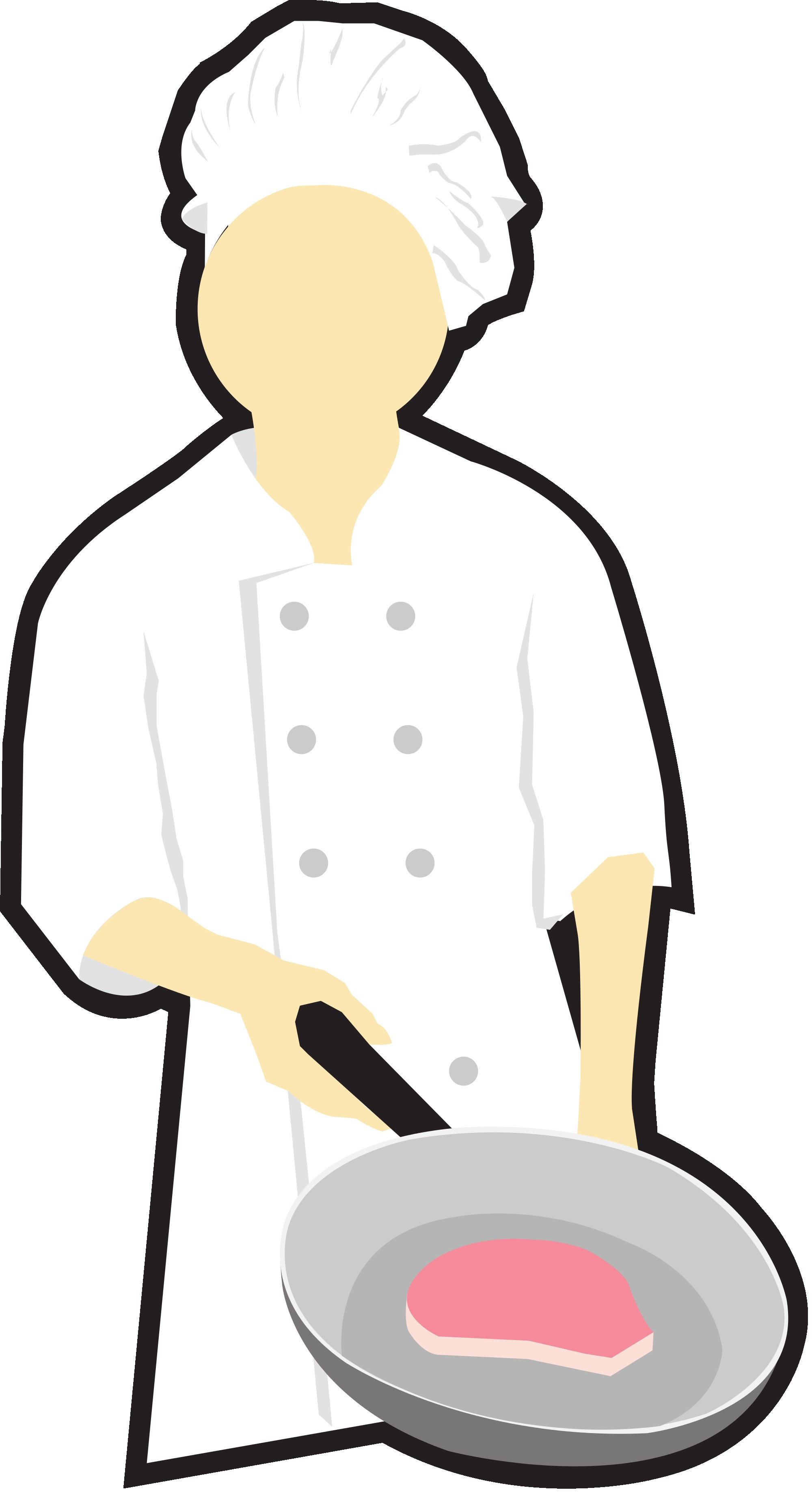2000x3673 Chef Italian Cuisine Cooking Clip Art Chefs Cliparts Png Download