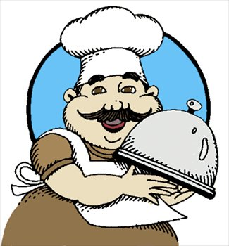 325x350 Image Of Chef Clipart