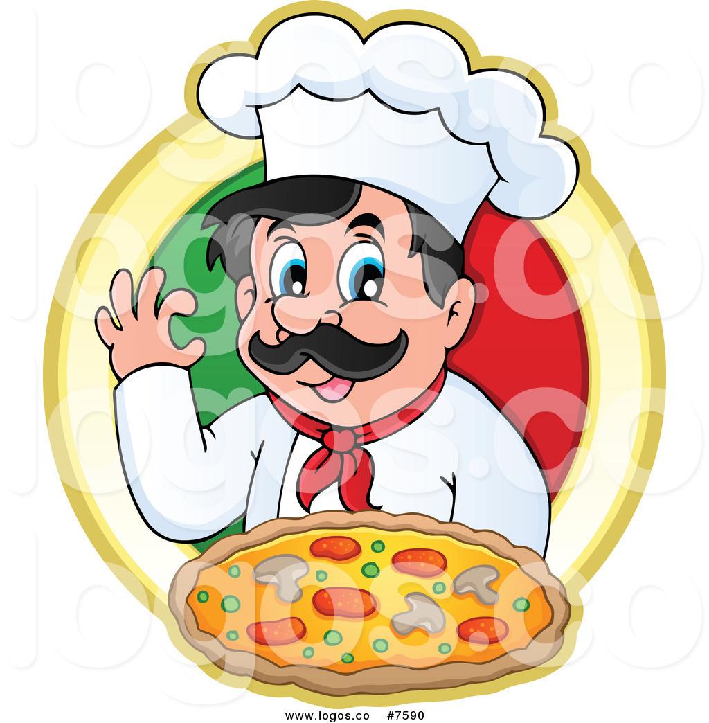 1024x1044 Royalty Free Chef Pizza Stock Logo Designs