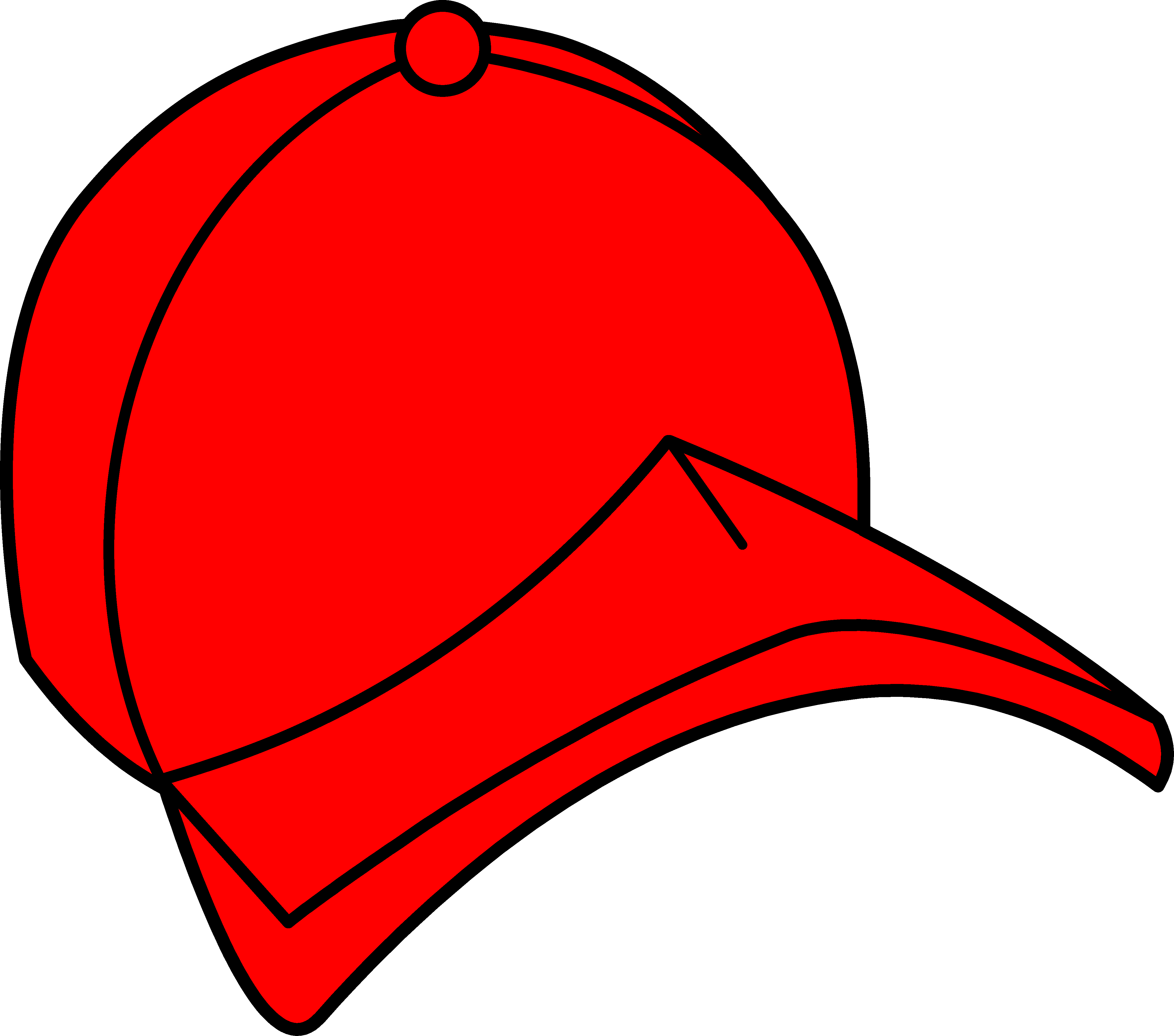 4554x4020 Clipart Hat Red