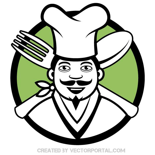 600x600 Free Chef Cliparts
