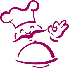 236x232 Outlined Chef Hat Clip Art