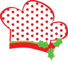 236x214 Christmas Chef Clipart
