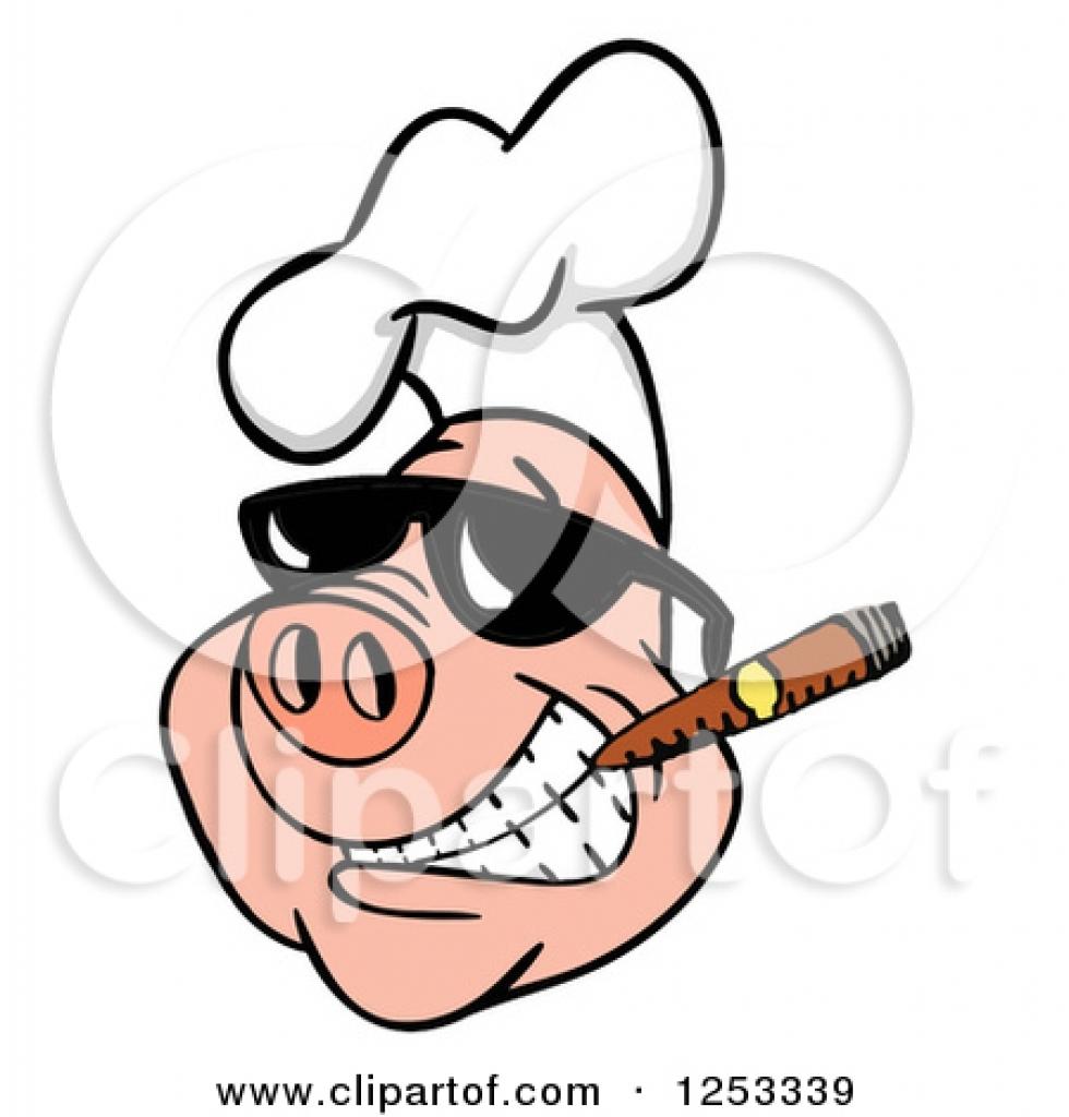 980x1024 Pig In Chef Hat Clipart Pig In Chef Hat Clipart Royalty Free Rf