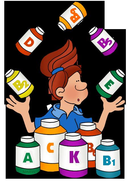 468x648 Chemistry Clip Art By Phillip Martin, Vitamins