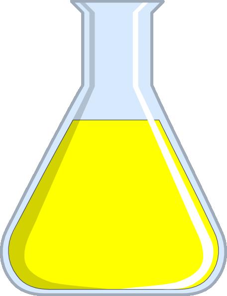 456x596 Chemistry Flash Yellow Clip Art