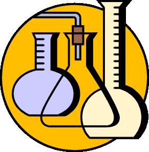 291x297 Chemical Lab Flasks Clip Art