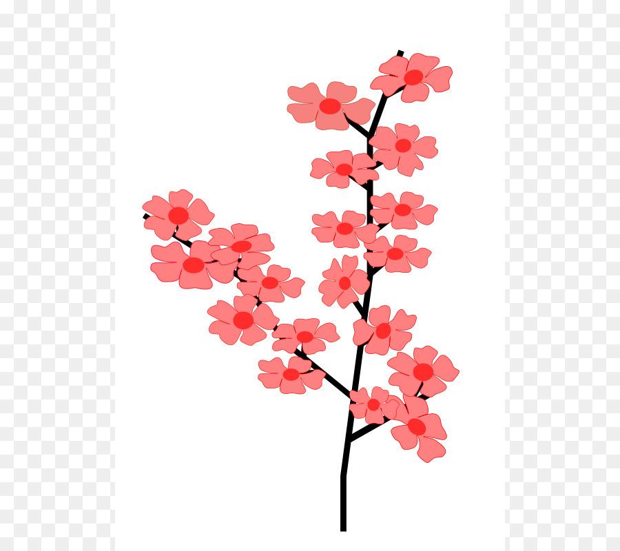 900x800 Cherry Blossom Flower Clip Art