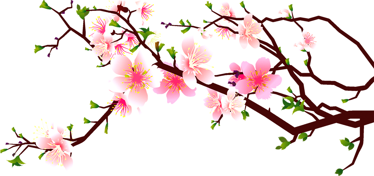 cherry blossom clipart at getdrawings com free for personal use rh getdrawings com cherry blossom clip art pictures cherry blossom clip art images