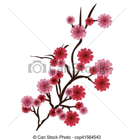 450x470 Cherry Blossom Icon Iimage Vector Illustration Design Eps Vector