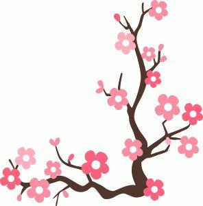 296x300 Photos Cherry Blossom Clip Art Borders,