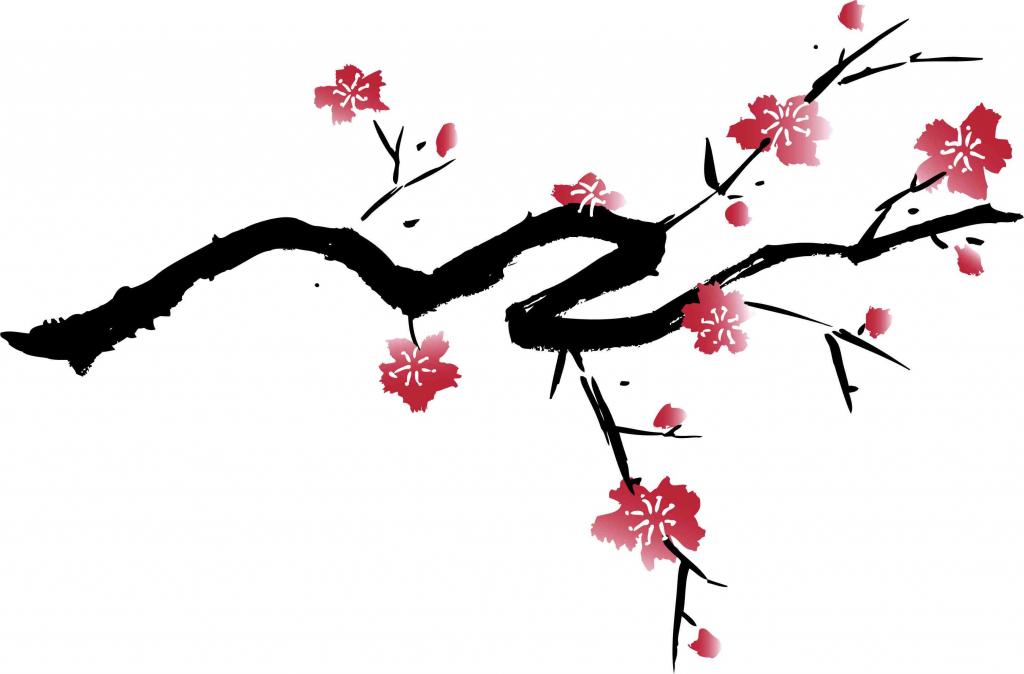 1024x674 Cherry Blossom Drawings Cherry Blossom Drawings Clip Art