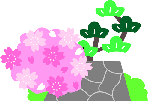 494x340 Free Cliparts Cherry Blossoms, City, Castle