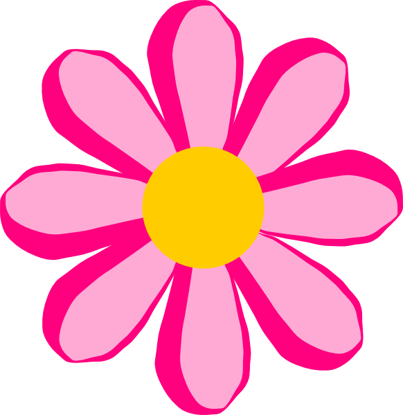 582x599 Blossom Clipart Animated