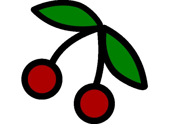 600x436 Cherry Clip Art