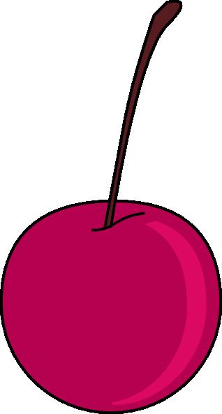 318x593 Cherry Clip Art Free Vector 4vector