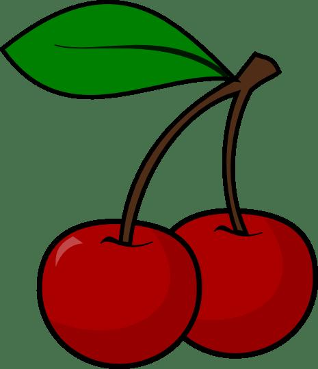 465x540 Cherry Clipart Black And White Cherry Clip Art 29 Goldie'S
