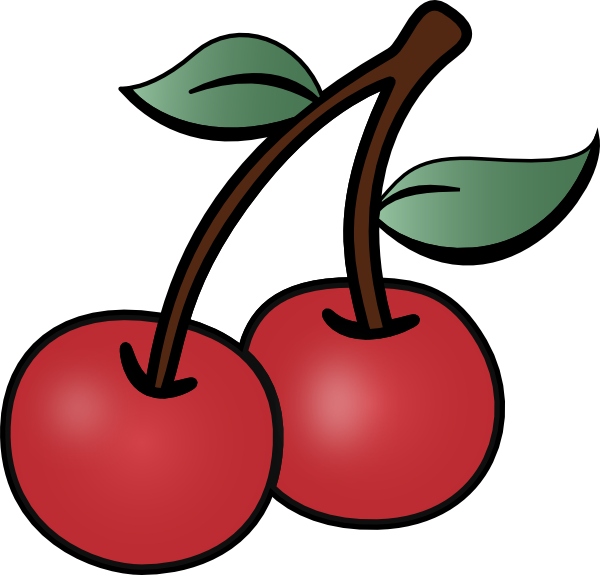 600x575 Cherry Clipart Cartoon Cherry Clip Art