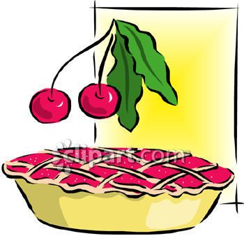 350x338 Cherry Pie Clip Art