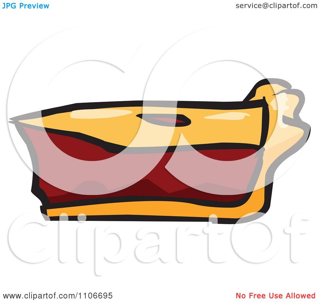 1080x1024 Clipart Slice Of Cherry Pie