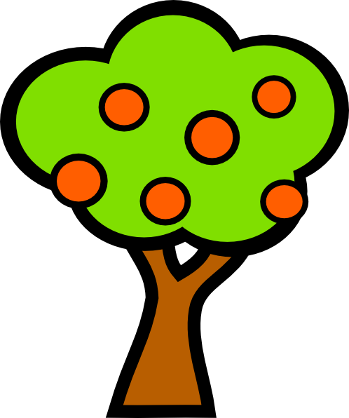 498x596 Cherry Tree Clip Art