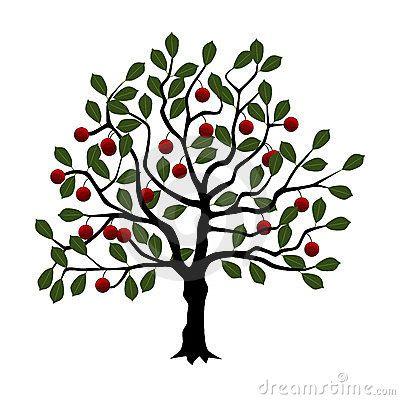 400x400 Cherry Tree Clip Art Cherry Tree Cherry Tree, Tree