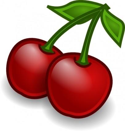 406x425 Cherry Tree Clipart