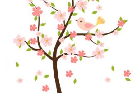 450x300 Cherry Blossom Clip Art Free Clipart Collection