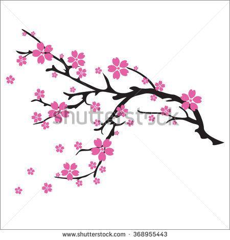 450x470 Beautiful Cherry Blossom Clip