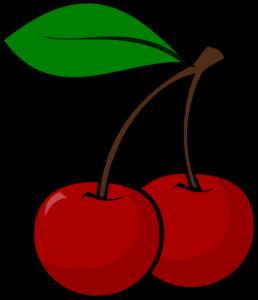 258x300 Of Red Cherries Clip Art Clipart Panda