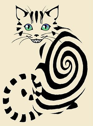 300x404 Cheshire Cat Art Cheshire Cat, Cat And Galleries