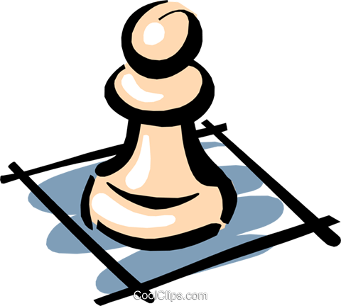 480x432 Chess Pieces Royalty Free Vector Clip Art Illustration Hous0842