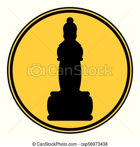 450x470 Chess Queen Icon. Chess Queen Icon On White Background . Vectors