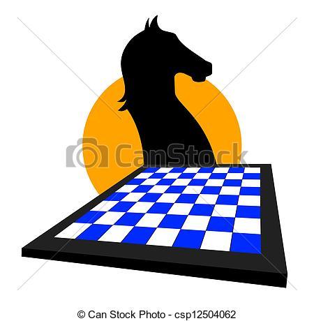 450x460 Creative Icon Of Chess Game Clip Art Vector
