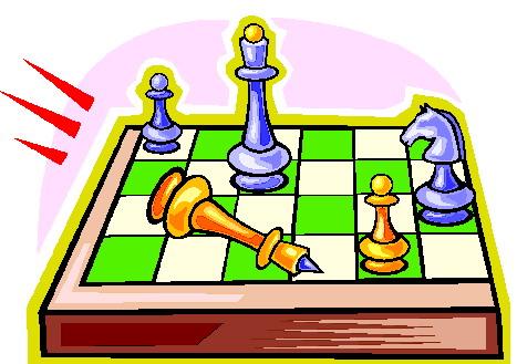467x329 Playing Chess Clip Art
