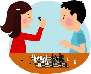 320x259 Collection Of Children Playing Chess Clipart High Quality