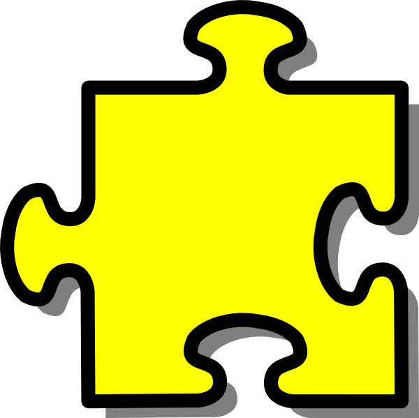 600x599 Clipart Puzzle Piece
