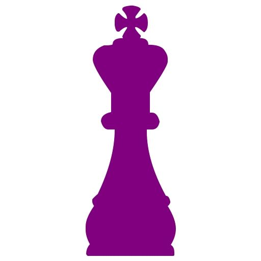512x512 Purple Chess Purple Chess 45 Icon