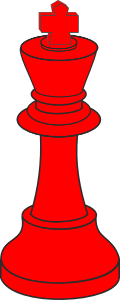 240x597 Red Chess Clip Art