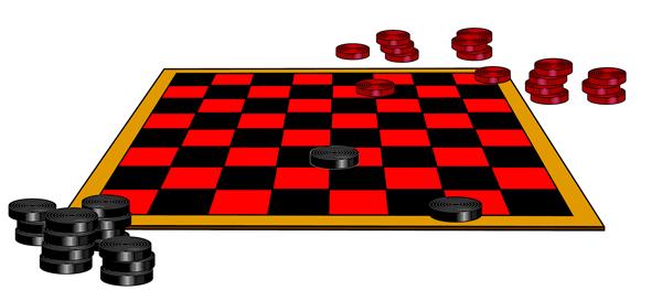 600x263 Checkerboard Clipart Checkers