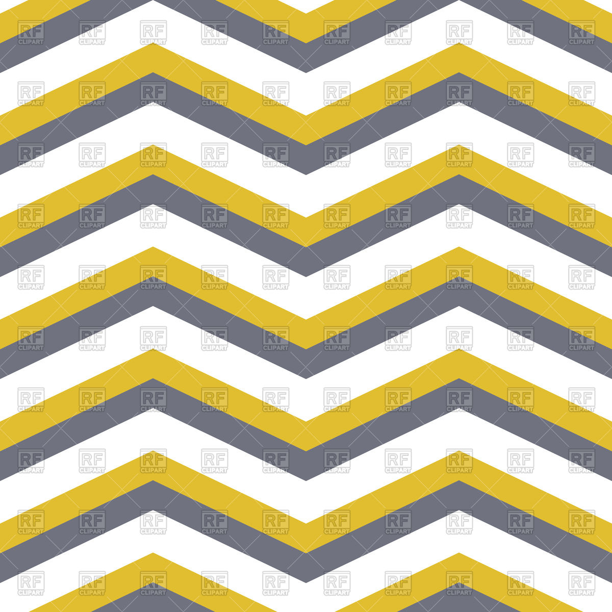 1200x1200 Seamless Chevron Yellow And Gray Background Royalty Free Vector