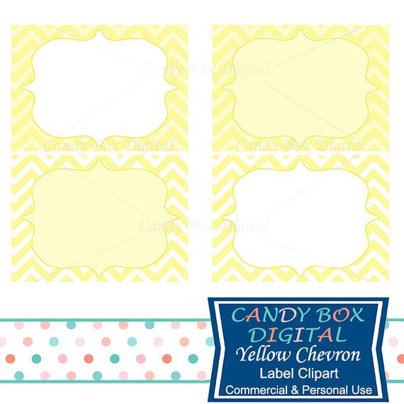 570x570 Yellow Label Clipart Chevron Digital Frame Clip Art